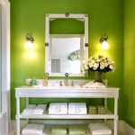 Barnes - Bathroom Green 663
